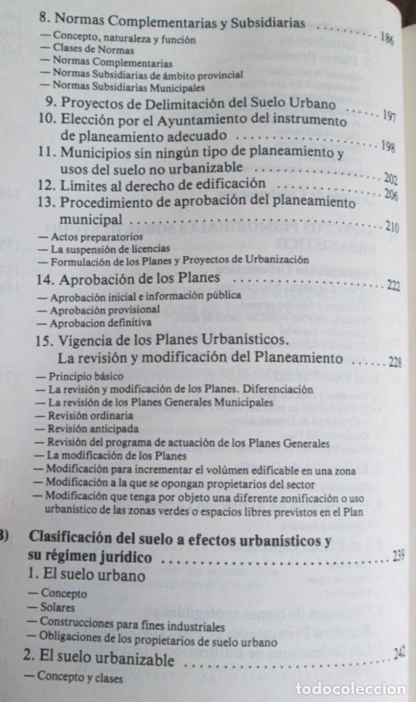Libros de segunda mano: ALIANZA POPULAR - Manual normativa municipal -Temas estructurales y formativos - Madrid 1983 - Foto 8 - 117780483