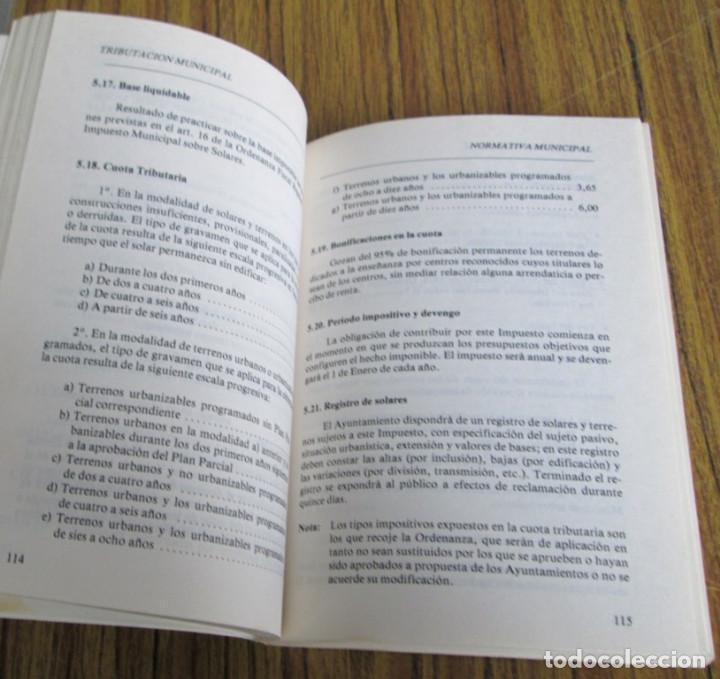 Libros de segunda mano: ALIANZA POPULAR - Manual normativa municipal -Temas estructurales y formativos - Madrid 1983 - Foto 10 - 117780483