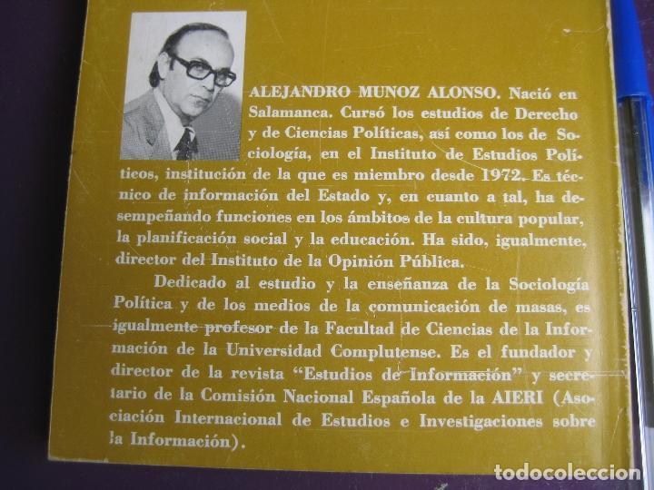 Libros de segunda mano: ALEJANDRO MUÑOZ ALONSO - LA ARITMETICA DE LA LIBERTAD TEMAS CAMBIO 16 - POLITIOCA - TRANSICION - Foto 2 - 118080059
