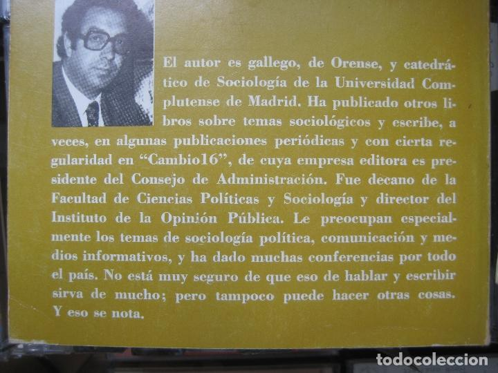Libros de segunda mano: LUIS GONZALEZ SEARA - ESPAÑA EN EL UMBRAL DEL CAMBIO - TEMAS CAMBIO 16 - POLITICA TRANSICION - Foto 3 - 118080379