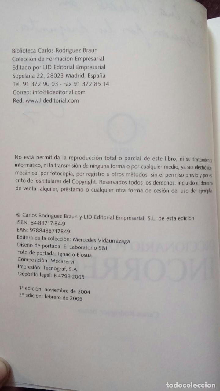 Libros de segunda mano: Diccionario políticamente incorrecto (Rodríguez Braun, Carlos) - Foto 2 - 118364171
