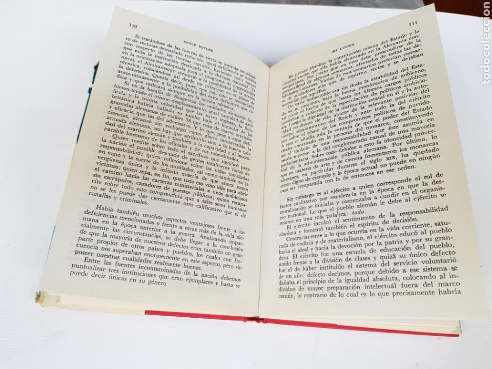 Libros de segunda mano: MI LUCHA - ADOLF HITLER - 1979 ED. EPOCA TIRADA 1000 EJEMPLARES - Foto 4 - 118547806