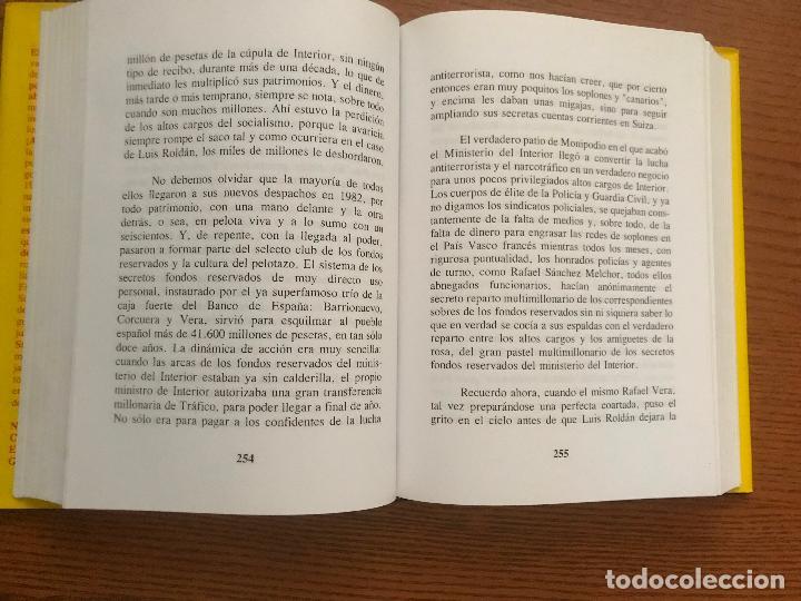 Libros de segunda mano: ¡A SACO! LA CLOACA DE ESPAÑA. BAEZA L. ÁLVARO - Foto 2 - 121034891