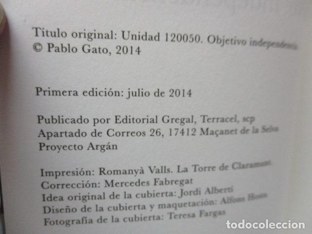 Libros de segunda mano: Unidad 120050. Objetivo: independencia de Pablo Gato - COMO NUEVO - Foto 4 - 206954890