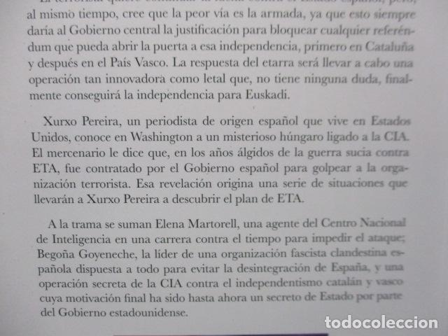 Libros de segunda mano: Unidad 120050. Objetivo: independencia de Pablo Gato - COMO NUEVO - Foto 8 - 206954890