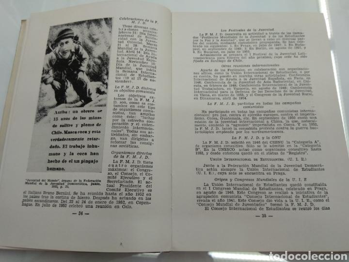 Libros de segunda mano: INFORME SOBRE EL COMUNISMO SERGIO FERNANDEZ LARRAIN VERSION TAQUIGRAFICA 1954 Firmado autor - Foto 5 - 122949560