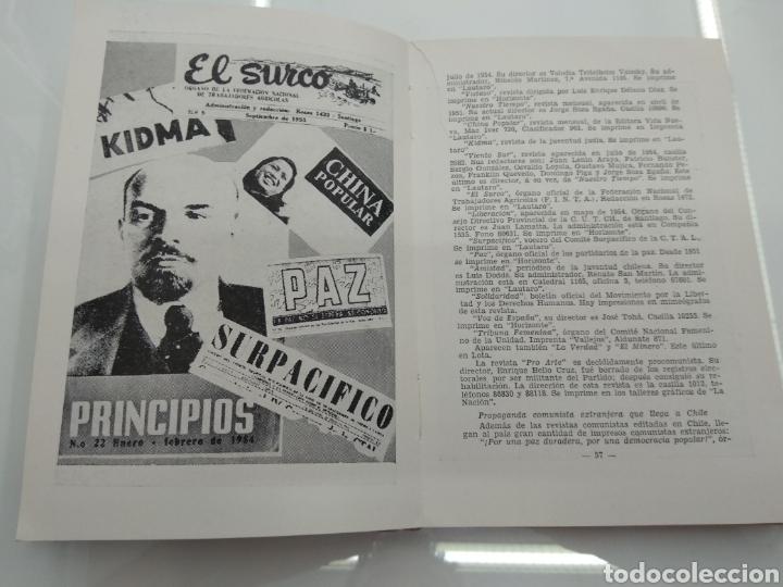 Libros de segunda mano: INFORME SOBRE EL COMUNISMO SERGIO FERNANDEZ LARRAIN VERSION TAQUIGRAFICA 1954 Firmado autor - Foto 6 - 122949560