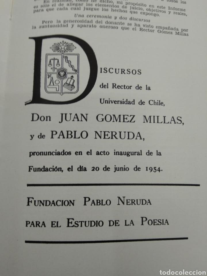 Libros de segunda mano: INFORME SOBRE EL COMUNISMO SERGIO FERNANDEZ LARRAIN VERSION TAQUIGRAFICA 1954 Firmado autor - Foto 9 - 122949560