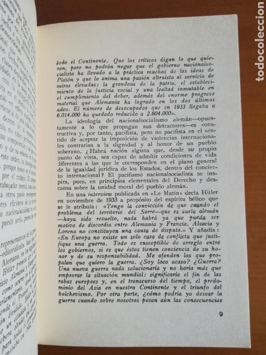 Libros de segunda mano: Mi lucha Hitler Facsímil 1era edición editada en castellano por el Partido Nazi - Mein Kampf - Foto 13 - 124425454