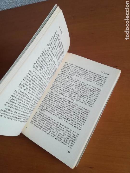 Libros de segunda mano: Mi lucha Hitler Facsímil 1era edición editada en castellano por el Partido Nazi - Mein Kampf - Foto 18 - 124425454