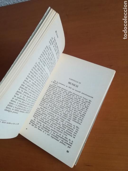 Libros de segunda mano: Mi lucha Hitler Facsímil 1era edición editada en castellano por el Partido Nazi - Mein Kampf - Foto 19 - 124425454