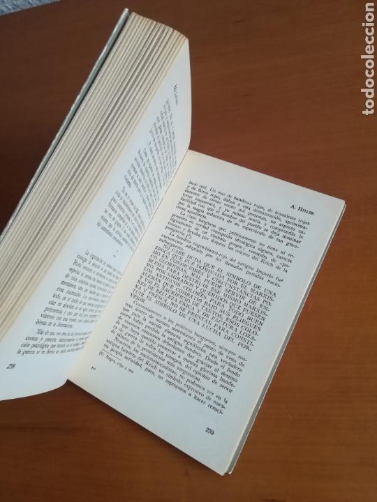 Libros de segunda mano: Mi lucha Hitler Facsímil 1era edición editada en castellano por el Partido Nazi - Mein Kampf - Foto 22 - 124425454
