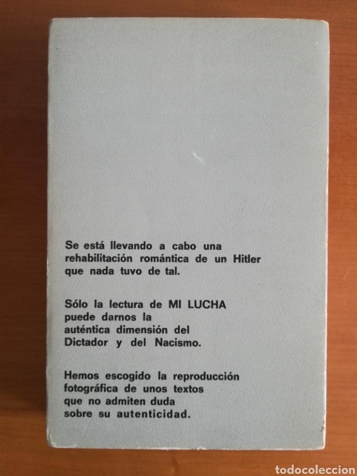 Libros de segunda mano: Mi lucha Hitler Facsímil 1era edición editada en castellano por el Partido Nazi - Mein Kampf - Foto 27 - 124425454