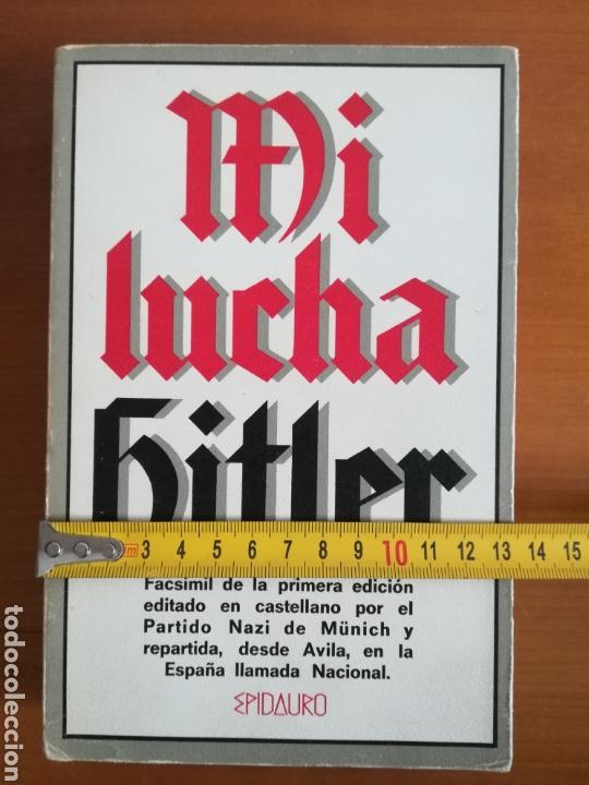 Libros de segunda mano: Mi lucha Hitler Facsímil 1era edición editada en castellano por el Partido Nazi - Mein Kampf - Foto 28 - 124425454