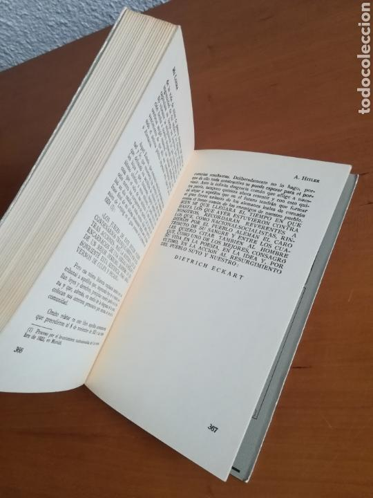 Libros de segunda mano: Mi lucha Hitler Facsímil 1era edición editada en castellano por el Partido Nazi - Mein Kampf - Foto 23 - 124425454
