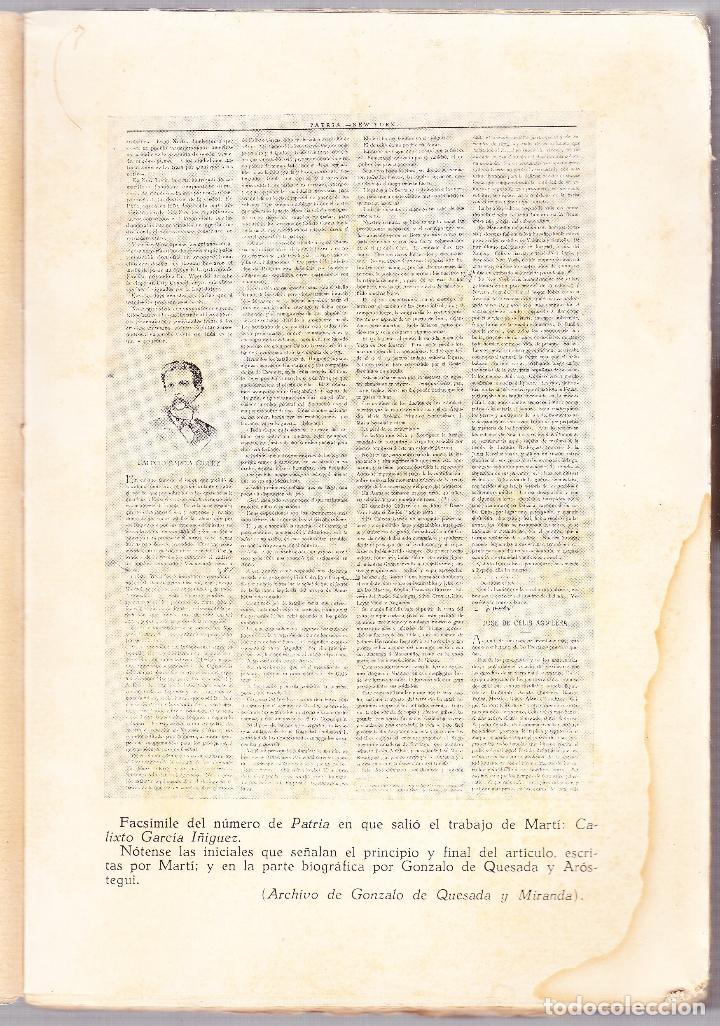 Libros de segunda mano: CUBA - HOMBRES 2 - OBRAS COMPLETAS DE JOSE MARTI - ED. TROPICO 1938 LA HABANA - Foto 3 - 125131995