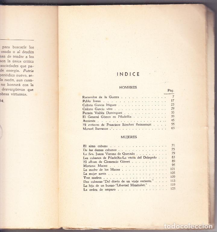 Libros de segunda mano: CUBA - HOMBRES 2 - OBRAS COMPLETAS DE JOSE MARTI - ED. TROPICO 1938 LA HABANA - Foto 5 - 125131995