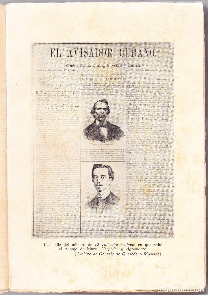 Libros de segunda mano: CUBA - HOMBRES 1 - OBRAS COMPLETAS DE JOSE MARTI - ED. TROPICO 1938 LA HABANA - Foto 4 - 125132167