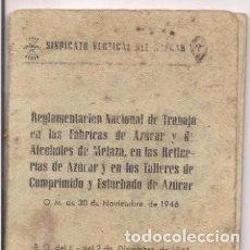 Libros de segunda mano: SINDICATO VERTICAL DEL AZUCAR. Lote 125454099