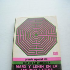 Libros de segunda mano: MARX Y LENIN EN LA AMÉRICA LATINA Y LOS PROBLEMAS INDIGENISTAS - ALEJANDRO LIPSCHÜTZ - CUBA (1974). Lote 128362091