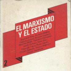 Libros de segunda mano: EL MARXISMO Y EL ESTADO, VVAA. Lote 128382635