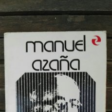 Libros de segunda mano: MANUEL AZAÑA LA VELADA EN BENICARLÓ. Lote 128810226