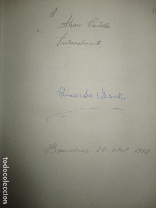 Libros de segunda mano: EL SINDICALISMO ESPAÑOL ANTES DE LA GUERRA CIVIL. LOS HIJOS DEL TRABAJO. - SANZ, Ricardo. 1976. - Foto 2 - 123245843
