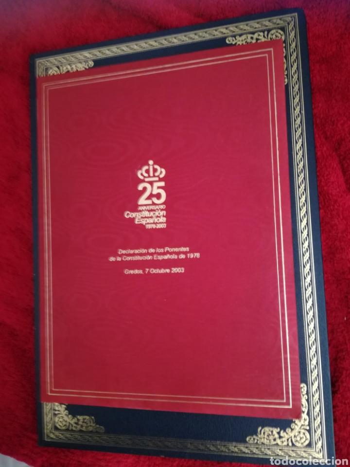 CONSTITUCIÓN ESPAÑOLA 25 ANIVERSARIO, 1978-2003.DECLARACION DE GREDOS. ORIGINAL (Libros de Segunda Mano - Pensamiento - Política)