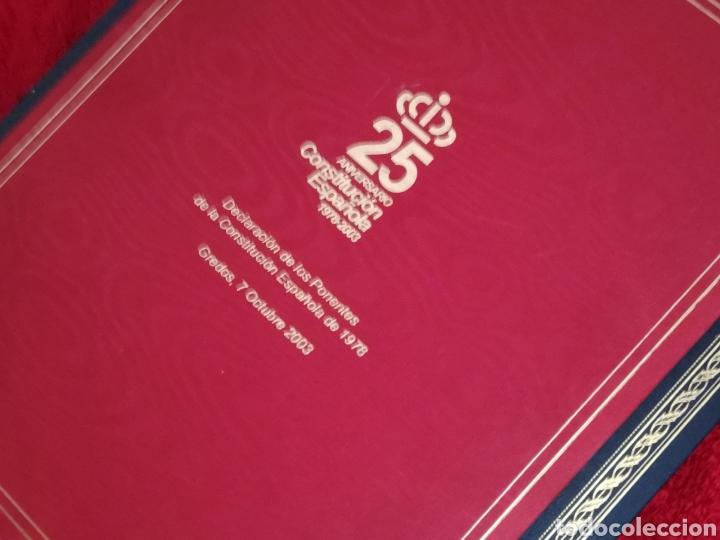 Libros de segunda mano: Constitución Española 25 aniversario, 1978-2003.Declaracion de Gredos. ORIGINAL - Foto 3 - 130922927