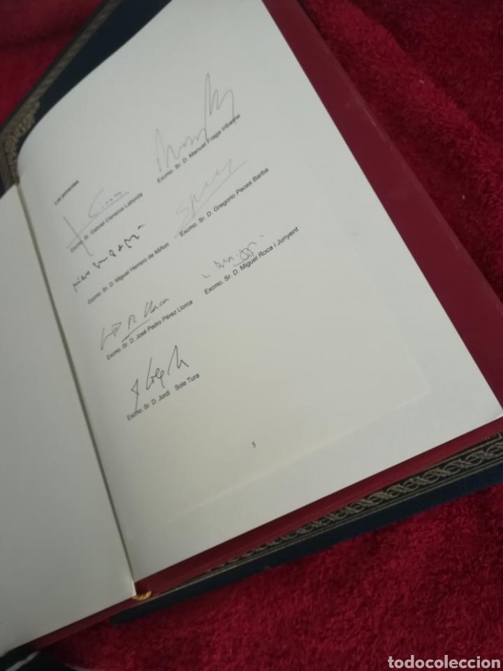 Libros de segunda mano: Constitución Española 25 aniversario, 1978-2003.Declaracion de Gredos. ORIGINAL - Foto 4 - 130922927