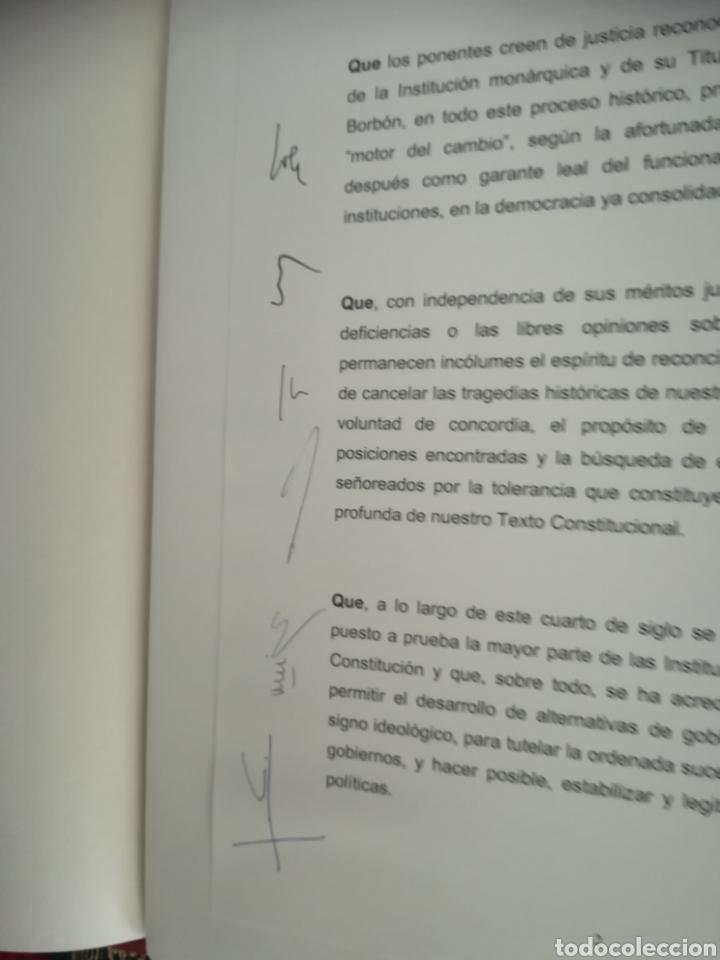 Libros de segunda mano: Constitución Española 25 aniversario, 1978-2003.Declaracion de Gredos. ORIGINAL - Foto 5 - 130922927