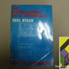 Libros de segunda mano: NIZAN, PAUL:LOS MATERIALISTAS DE LA ANTIGÜEDAD (TRAD:REYES LLOPART). Lote 131252811