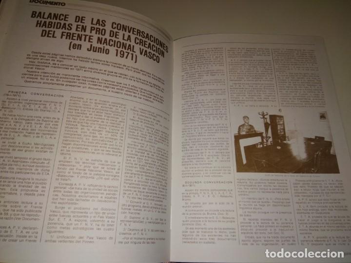 Libros de segunda mano: DOCUMENTOS Y VOLUMEN 11 HORDAGO S.A. DOCUMENTOS ETA AÑO 1971 SEXTA ASAMBLEA CELULAS ROJAS PAIS VASCO - Foto 5 - 131310947