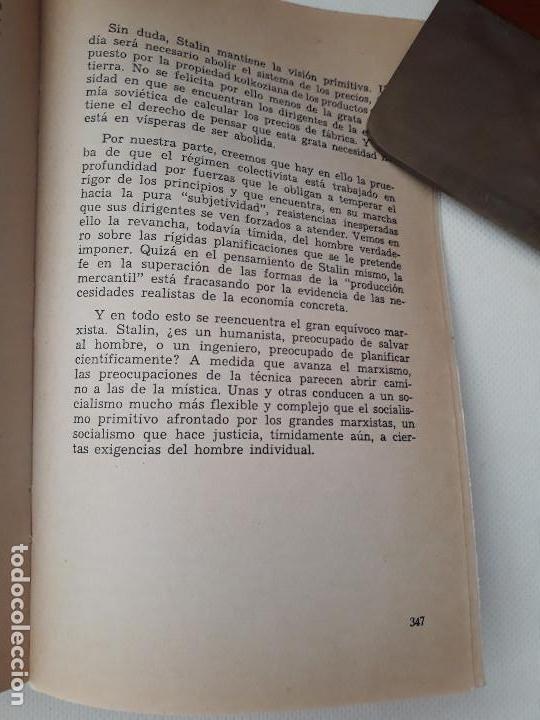 Libros de segunda mano: Marxismo y humanismo. Pierre Bigo. Editorial ZYX Biblioteca Promoción del Pueblo. Madrid. 1966. - Foto 5 - 131661442
