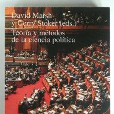 Libros de segunda mano: TEORÍA Y MÉTODOS DE LA CIENCIA POLÍTICA - DAVID MARSH Y GERRY STOKER - ALIANZA UNIVERSIDAD TEXTOS. Lote 178896848