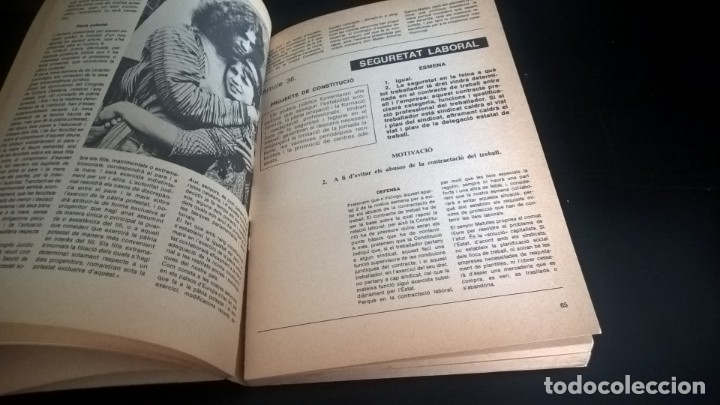 Libros de segunda mano: CONSTITUCIÓ PAQUET D´ESMENES. LLUÍS MARÍA XIRINACS. - Foto 7 - 132916059