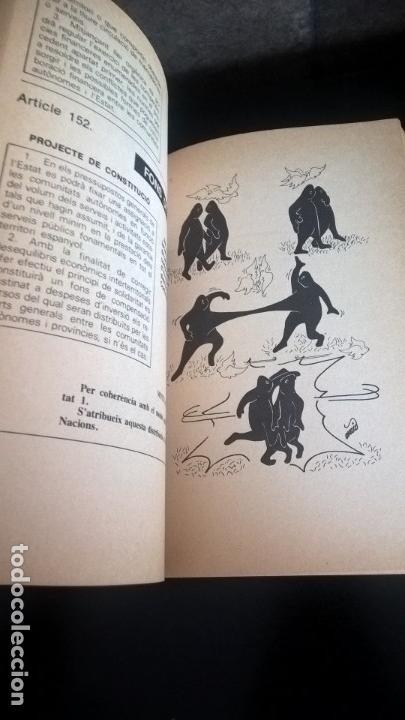 Libros de segunda mano: CONSTITUCIÓ PAQUET D´ESMENES. LLUÍS MARÍA XIRINACS. - Foto 9 - 132916059