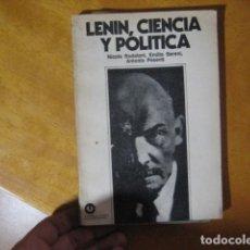 Libros de segunda mano: LENIN: CIENCIA Y POLÍTICA. NICOLA BADALONI, EMILIO SERENI, ANTONIO PESENTI. Lote 133634606