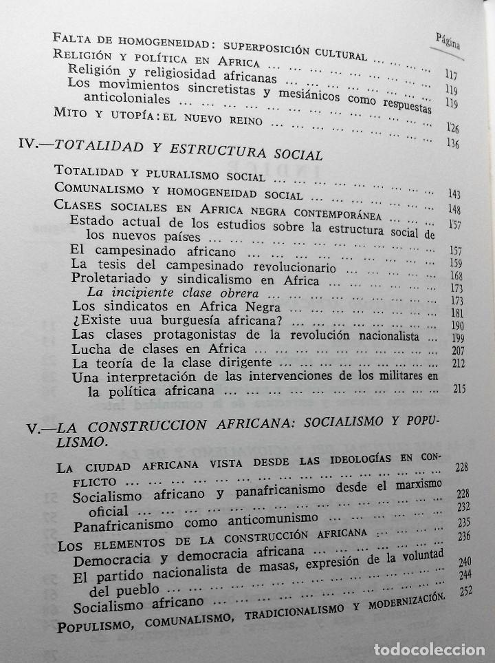 Libros de segunda mano: EL NUEVO REINO Sentido de la política en África Negra. Fernando Morán (1967) - Foto 4 - 133976810
