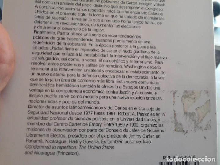 Libros de segunda mano: El remolino, politica exterior de USA en America latina. Robert Pastor. Ed. Siglo XXI - Foto 3 - 134062750