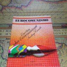 Libros de segunda mano: EUROCOMUNISMO. ESCRITOS SOBRE EUROCOMUNISMO- SANTIAGO CARRILLO.. Lote 135245806