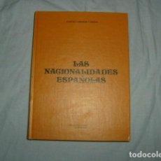 Libros de segunda mano - LAS NACIONALIDADES ESPAÑOLAS , ANSELMO CARRETERO Y JIMENEZ - 136093582