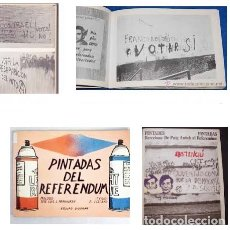 Libros de segunda mano: PINTADAS DEL REFERENDUM (LIZCANO, E. / JOSE L ARANGUREN) GRAFFITI POLITICA. Lote 90230552
