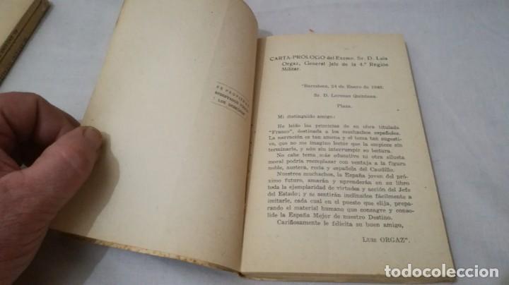 Libros de segunda mano: FRANCO, AL MUCHACHO ESPAÑOL-L QUINTANA-EDITORIAL LIBRERIA RELIGIOSA 1940 - Foto 6 - 137222922