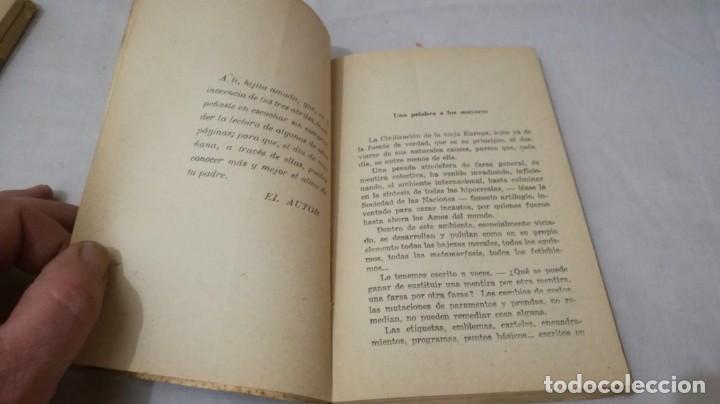 Libros de segunda mano: FRANCO, AL MUCHACHO ESPAÑOL-L QUINTANA-EDITORIAL LIBRERIA RELIGIOSA 1940 - Foto 8 - 137222922