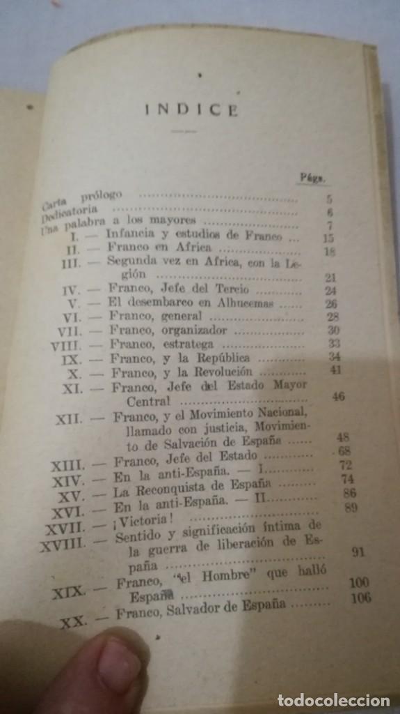 Libros de segunda mano: FRANCO, AL MUCHACHO ESPAÑOL-L QUINTANA-EDITORIAL LIBRERIA RELIGIOSA 1940 - Foto 15 - 137222922