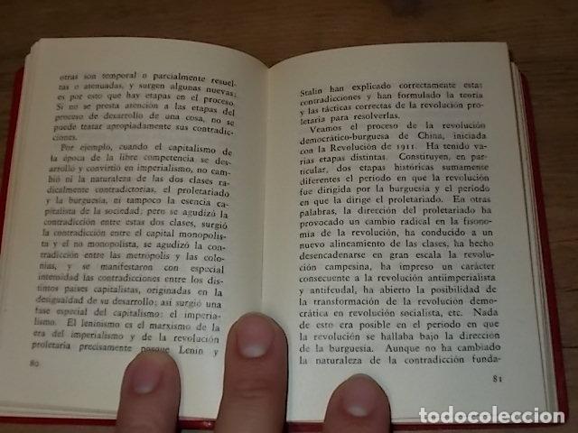 Libros de segunda mano: CINCO TESIS FILOSÓFICAS DE MAO TSETUNG. EDICIONES EN LENGUAS EXTRANJERAS. PEKÍN. 1975. UNA JOYA!! - Foto 5 - 137727834
