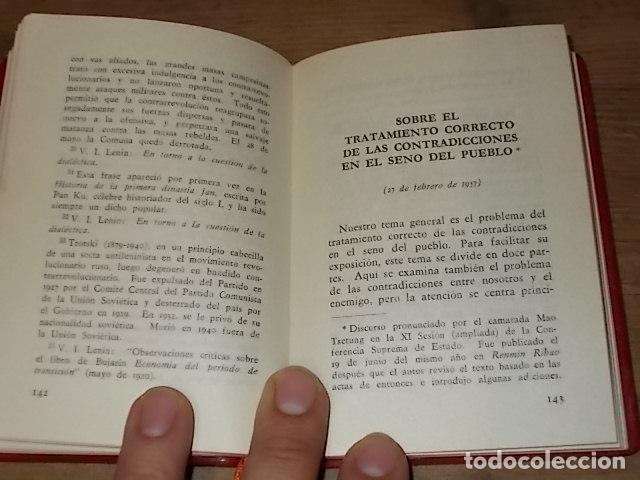 Libros de segunda mano: CINCO TESIS FILOSÓFICAS DE MAO TSETUNG. EDICIONES EN LENGUAS EXTRANJERAS. PEKÍN. 1975. UNA JOYA!! - Foto 6 - 137727834