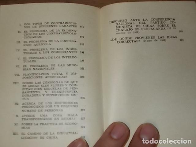 Libros de segunda mano: CINCO TESIS FILOSÓFICAS DE MAO TSETUNG. EDICIONES EN LENGUAS EXTRANJERAS. PEKÍN. 1975. UNA JOYA!! - Foto 10 - 137727834