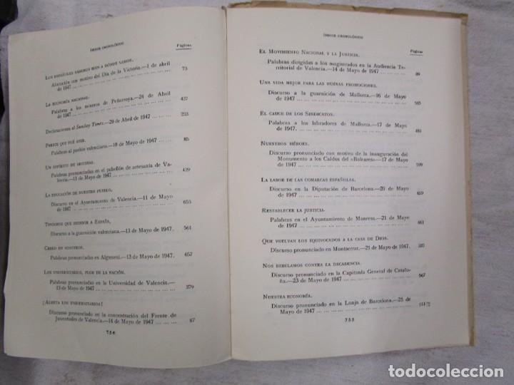 Libros de segunda mano: Textos de doctrina política (Palabras y escritos de 1945 a 1950) - FRANCO, Francisco - MADRID 1951 + - Foto 2 - 139129066